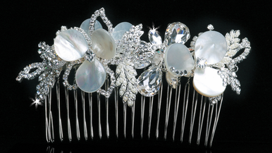 En Vogue Bridal Crystal Tiara Comb TC1114