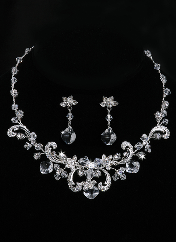 En Vogue Bridal Necklace & Earring Set NL931