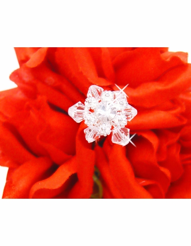 Crystal Bouquet Jewels - Set of 2