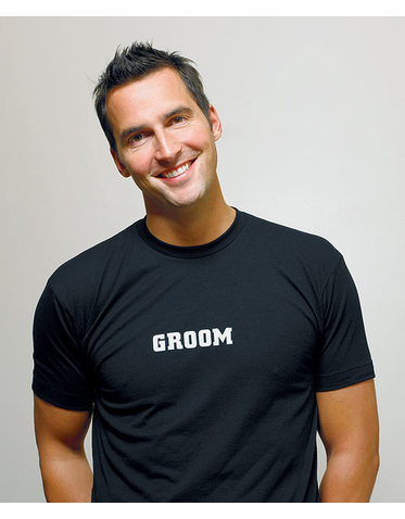 Groom T-Shirt in Choice of Colors