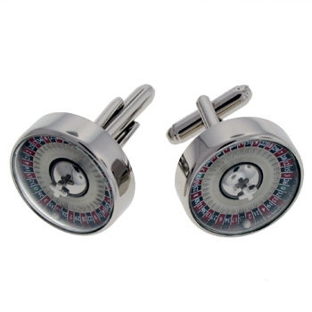 Rotary Roulette Cufflinks