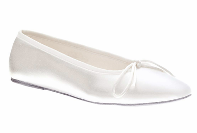 Ballet Satin Bridal Shoes by Touch Ups - Limited Sizes