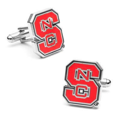 NC State Wolfpack Cufflinks