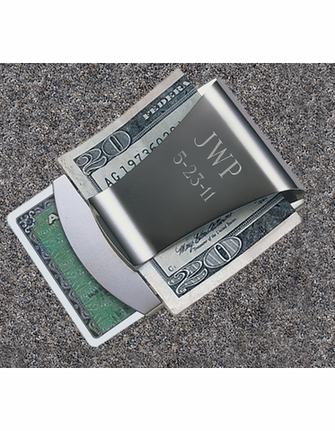 Smart Money Clip and Credit Card Holder