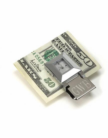 Time Piece Money Clip