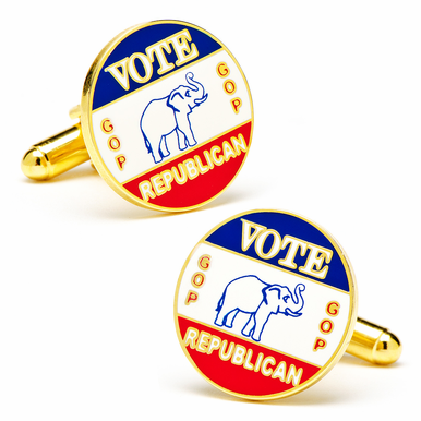 Vintage look Republican Cufflinks