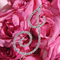 CLEARANCE: Brilliant Crystal Bouquet Letter Jewelry - Bouquet Monograms