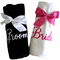 His and Hers Luxurious Cotton Terry Velour Beach Towel Set