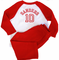 Personalized Baseball Tee - Sizes 6-24 Months