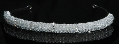 En Vogue Bridal Crystal Tiara 1106