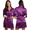 Embroidered Satin Bridal Party Robe  - Personalized Getting Ready Robes