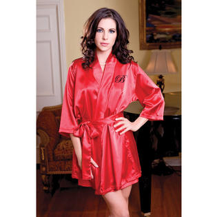 Customized Satin Bride and Bridesmaid Robes