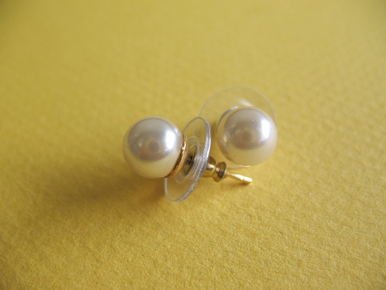 CLEARANCE: Pearl Studs - 8mm