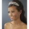 Flexible Silver with White Pearl Headband - Bridal Headband