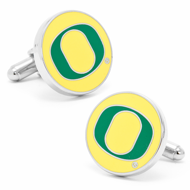 Oregon University Ducks Cufflinks