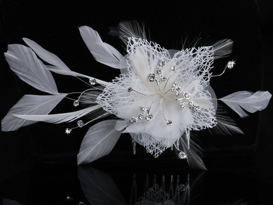 En Vogue Bridal Hair Flower Headpiece FL202