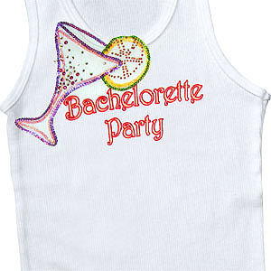 Margarita Embellished Bachelorette Party Tank Top