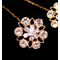 Silver or Gold Bouquet Jewelry with Crystals - Sold Individually