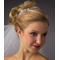 Skinny Headband with Crystal Accents & Side Detail 2841