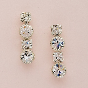 Tiffany and Princess Crystal Earrings