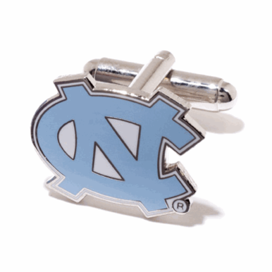 Carolina Tarheels Medallion Cufflinks