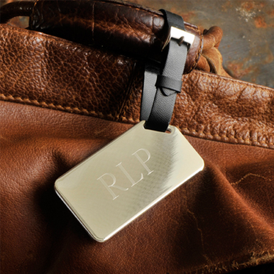 His Personalized V.I.P. Luggage Tag