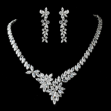 Stunning Cubic Zirconia Jewelry Set