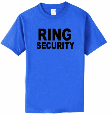 Ring Security Ring Bearer T-Shirt