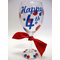 Fourth of July Wine Glasses
