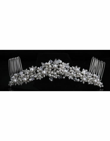 En Vogue Bridal Crystal Tiara Comb TC369