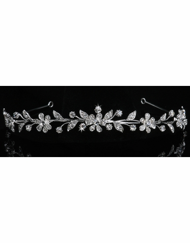 En Vogue Bridal Crystal Tiara 714