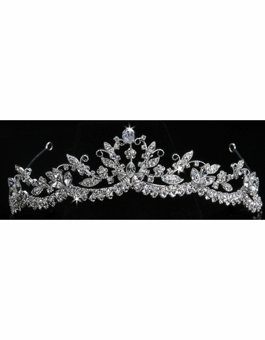 En Vogue Bridal Crystal Tiara 800