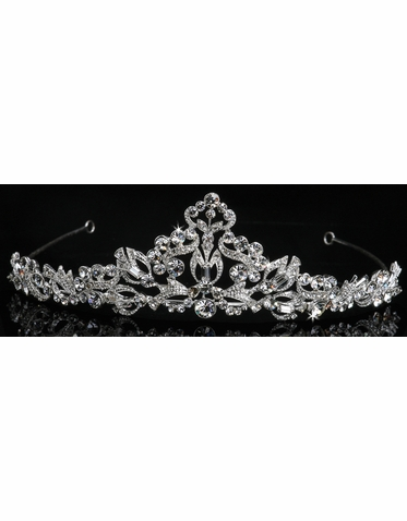 En Vogue Bridal Crystal Tiara 820
