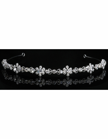 En Vogue Bridal Crystal Tiara 858