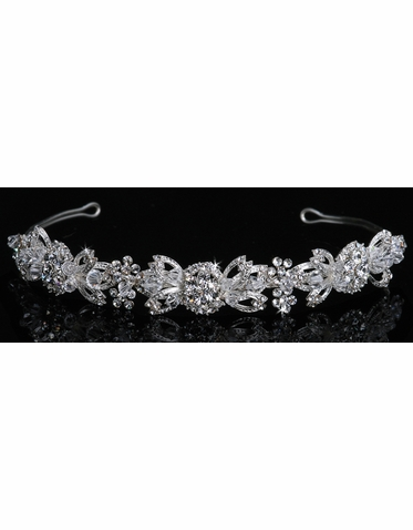 En Vogue Bridal Crystal Tiara 1026