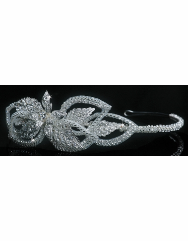 En Vogue Bridal Crystal Tiara 1101