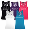 Personalized  Lace Racerback Tank Tops for Bride and Bridesmaids