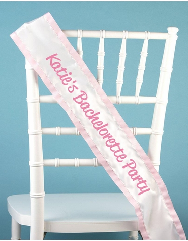 Custom Sash with Mix and Match Colors - Personalized Sash