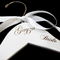 Personalized Hangers for the Bridal Party