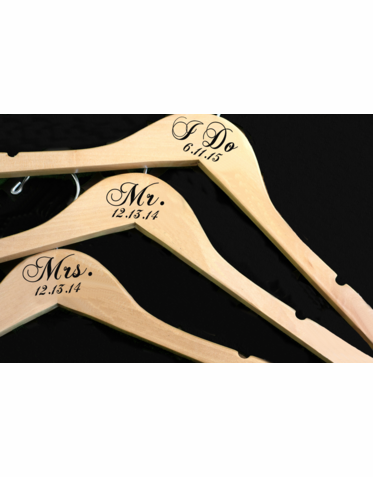 I Do Hanger - Mr and Mrs Hangers
