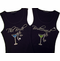 Bridal Tank Top and Bride's Entourage Tank Tops with Martini Glass and Dazzling Shoe
