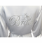 Large Script Bride Robe with Ring Design