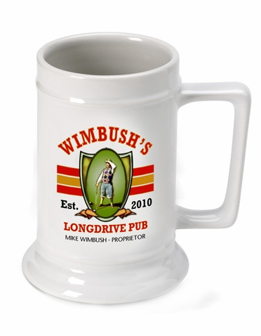 Personalized Longdrive Beer Stein