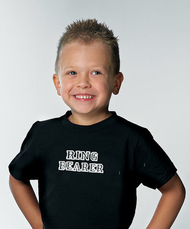 Custom Ring Bearer T-Shirt