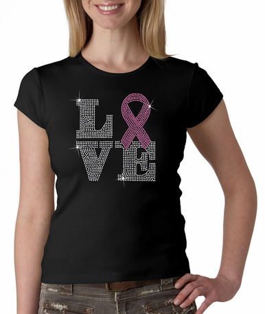 Pink Ribbon Love Shirt
