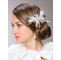 Glamorous Vintage Inspired Rhinestone And Horsehair Ribbon Comb