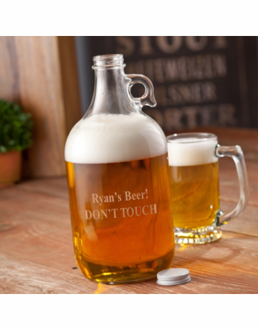 Personalized Brewer's Growler