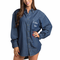 Denim Monogrammed Getting Ready Shirt