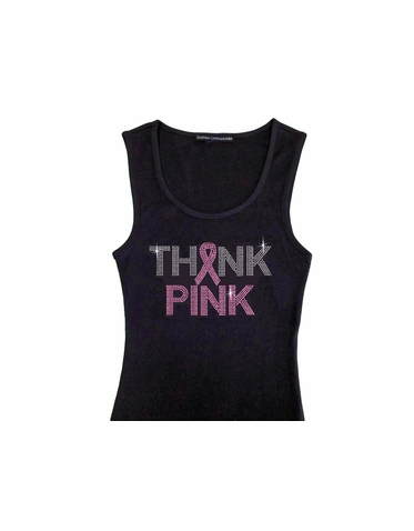 Think Pink Tank or Tee
