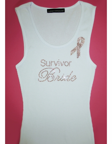 Survivor Bride Tank Top or T-Shirt